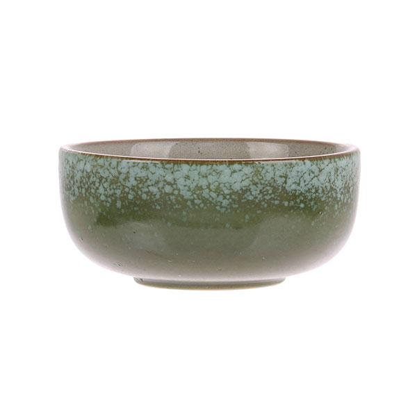 70's Keramik Skål Medium Grön