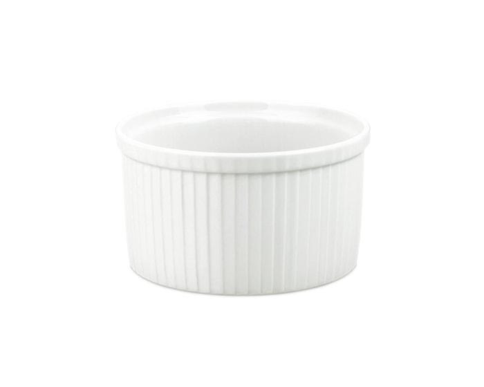 Suffléform hög extra vit, 1,8 L