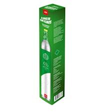 Hiilidioksidisylinteri hiilihapotuslaitteeseen vihreä ilmastokompensoitu
