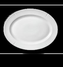 Grand Cru Oval tallrik 30x23 cm vit