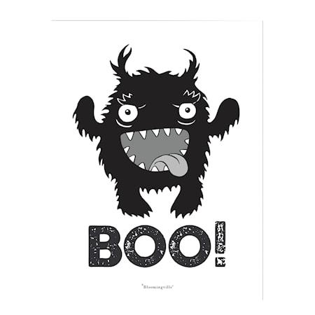 Affisch BOO!