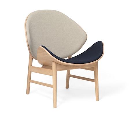 The Orange Lounge Chair Grey/Navy Blue Vitoljad Ek