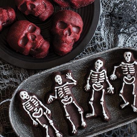 Spooky Skeleton Kakkuvuoka
