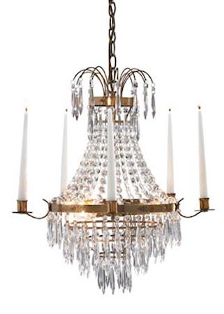 Krageholm Taglampe 3 Lys Antik