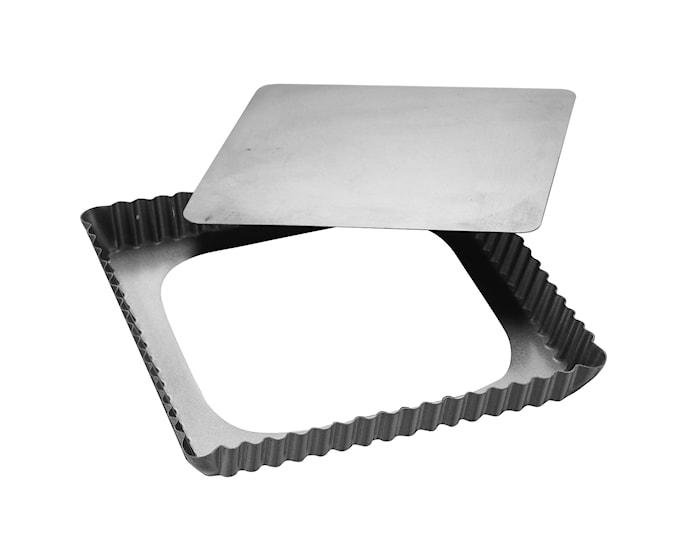 Silvertop Piirakkavuoka 21x21 cm hopea