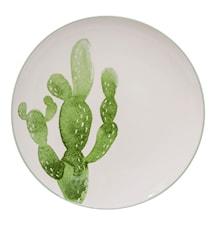 Jade Lautanen Vihreä Kivitavaraa 25 cm