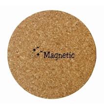 Korkkipannunalunen, magneetti, ympyrä
