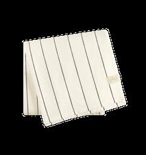 Mantel Natural/Negro 140x200 cm