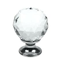 Greb Diamond glas/Krom - 4 cm