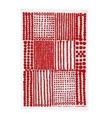 Pricktyg Kjøkkenhåndduk Rød