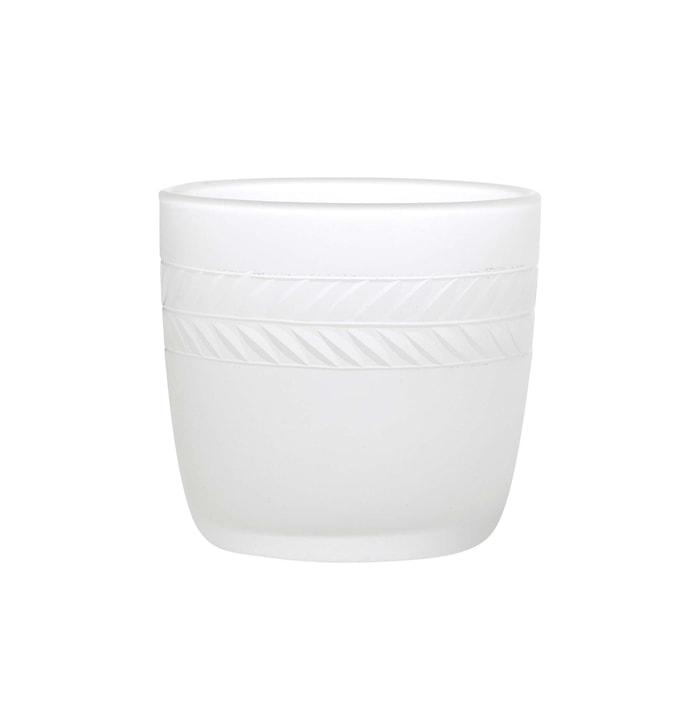 Laakeriseppele, kynttilälyhty huurrutettua käsinkaiverrettua lasia