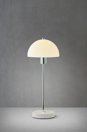 Vienna Pöytälamppu valkoinen lasi E14