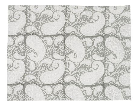 Tablett Big Paisley 2st – Light Grey