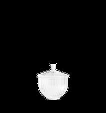Makeiskulho Suupuhallettu lasi Kirkas Ø8 cm