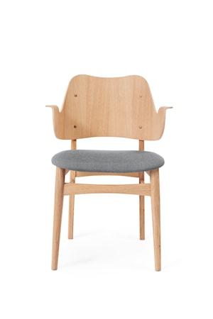 Gesture Chair S Vitoljad Ek Grey Melange Canvas