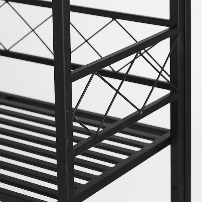 Etagère noire 100x30 cm Gardia
