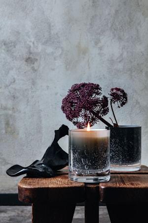 Doftljus Refill Black Wood/ Amber Rose 2-Pack