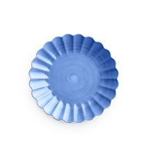 Oyster Tallrik Ljusblå 28 cm