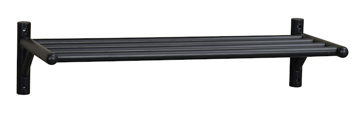 Milford Skohylla Svart Ek 80 cm