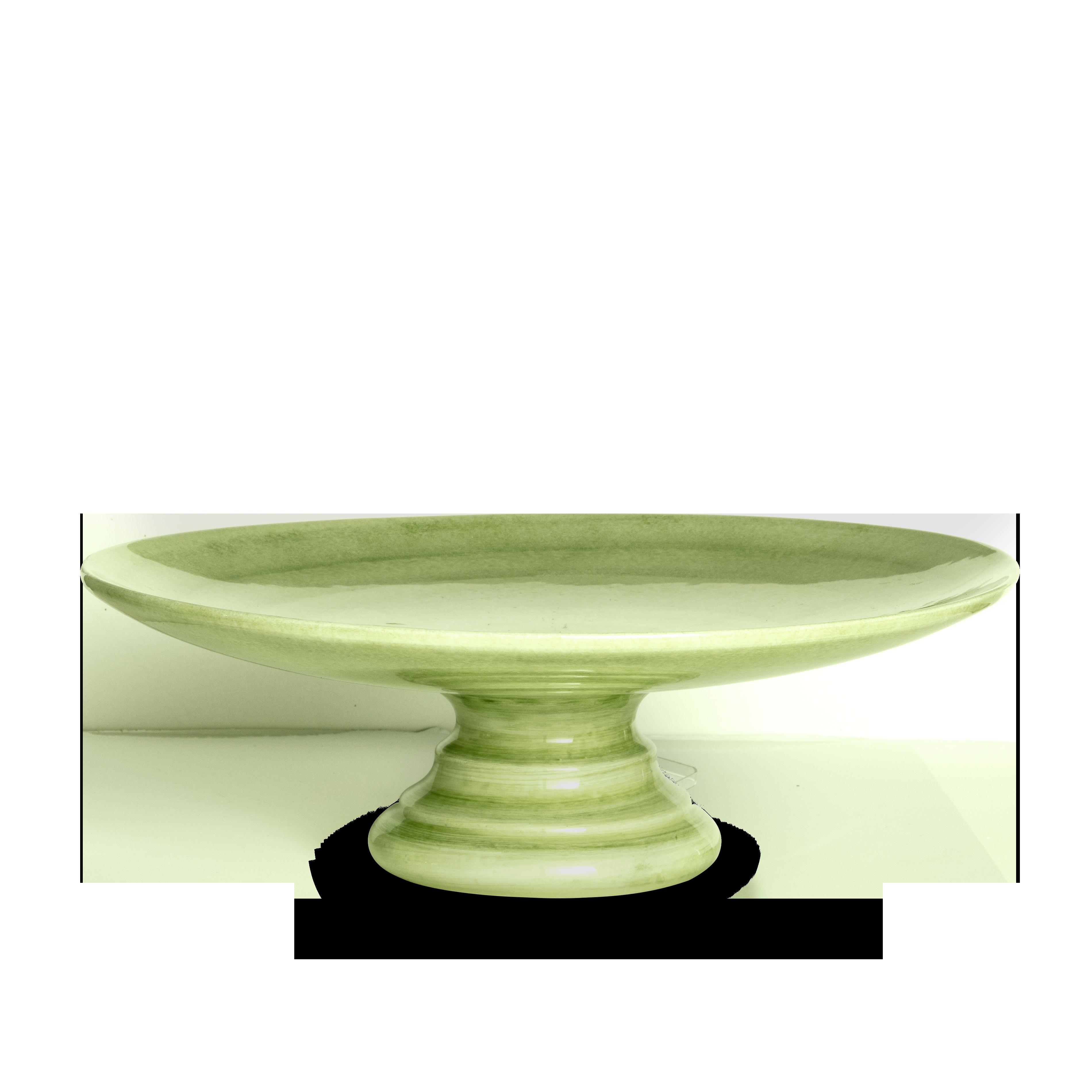 Basic Tårtfat Grön 33 cm