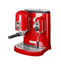 Artisan espressomaskin röd
