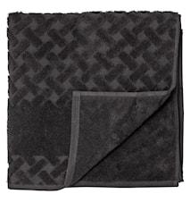 Håndklæde Laurie 140x70 cm Sort