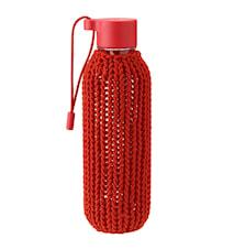 CATCH-IT Trinkflasche, 0,6 l. - warmes Rot