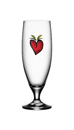 Friendship Hearts Ölglas 50 cl