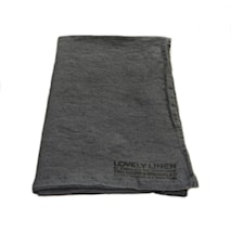 Lovely linen hamam handduk – Dark grey