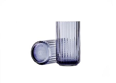 Lyngby Vas Midnight Blue Munblåst Glas H31 cm