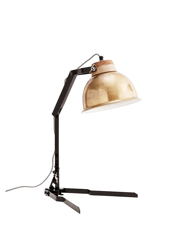 Pöytälamppu 35 x 58 cm messinki/musta