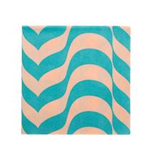 Aalto servett 33x33 cm havsblå/puder