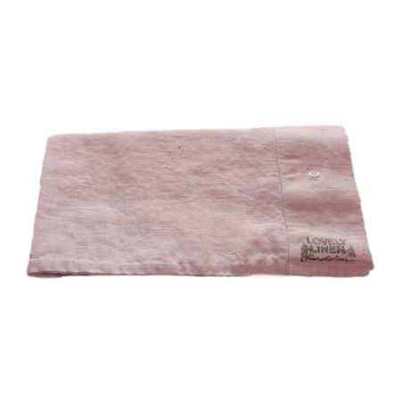 Lovely linen örngott Dusty pink