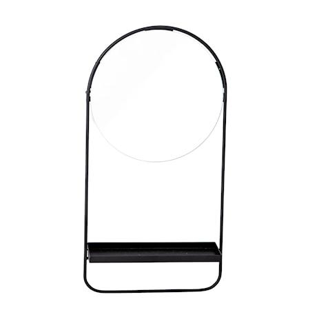 Spegel Svart Glas
