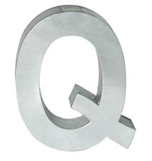 Metallvetica bokstav - Q