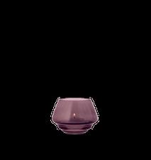 Flow Teelichthalter Pflaume Ø10 cm