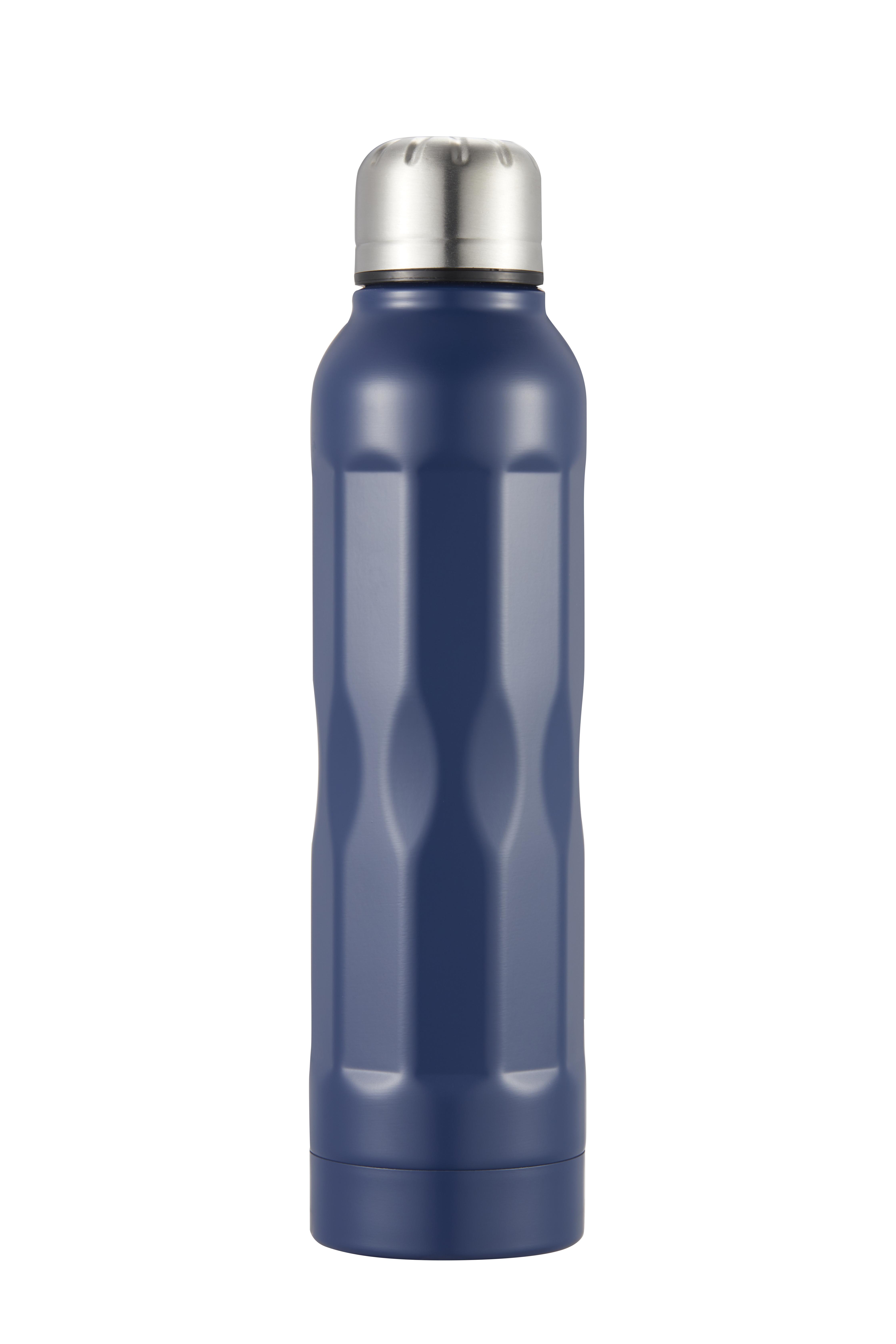 Tia Vakuumflaska mörkgblå rostfritt stål 35 dl
