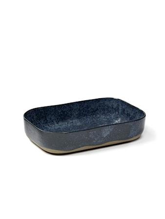 Merci Extra Syvä lautanen N°5 - Sininen/Harmaa