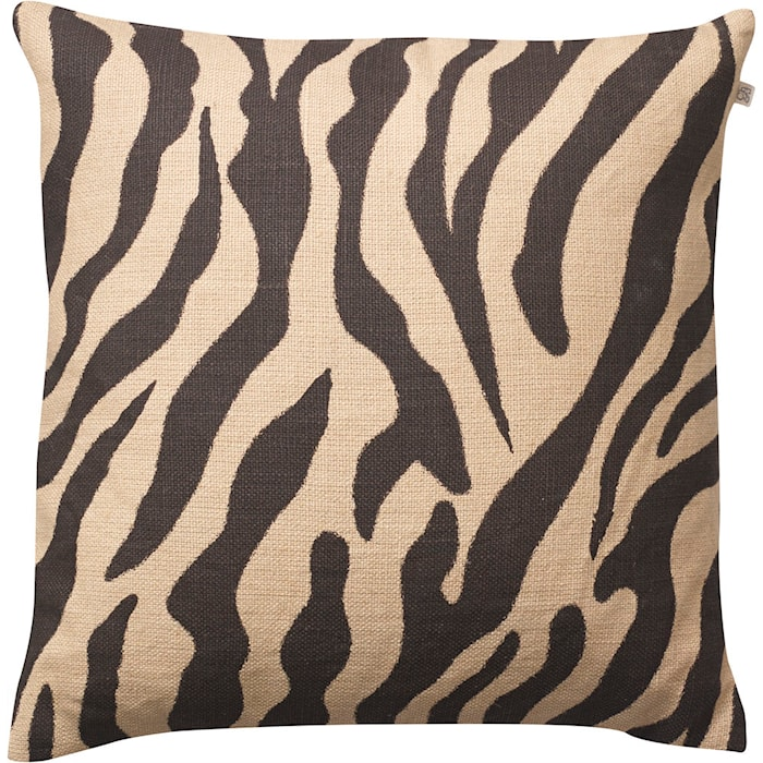Zebra  Kuddfodral Linne Beige/Svart 50x50 cm
