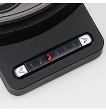 Vohvelirauta 20 cm, elektroninen lämpötilansäätö