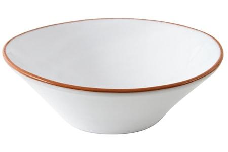 Stor skål Glaseret Terracotta ø29,5 cm