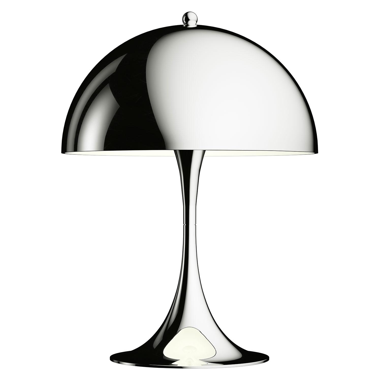 Panthella Mini Bordslampa Krom