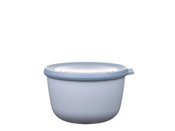 Skål med Lock Cirqula 1 Liter N.blue