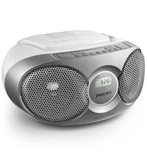 Philips Boombox AZ215 Silver