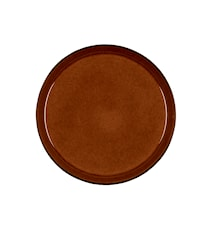 Assiette Gastro Ø 27 cm noir/ambre