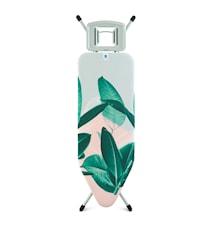 Strygebord Stl C med Solid Dampstrygejernsholder Tropical Leaves