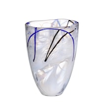 Contrast Hvit Vase 20 cm