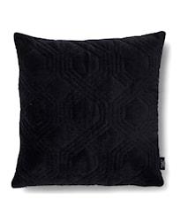 Geometric black pute 50x50