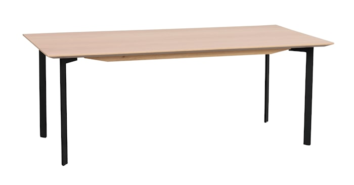 Spencer Soffbord Vitpigment Ek 120x60 cm