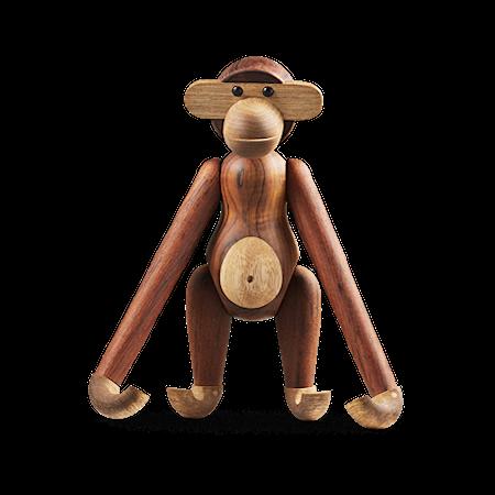 Affe Mittelgroß teak/limba